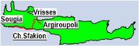 Sougia- Chora Sfakion- Vrisses- Kournas Lake- Argiroupoli