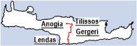 Anogia- Tilisos- Gergeri- Lendas