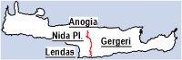 Anogia- Nida- Gergeri- Lendas