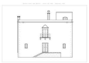 the house of karlitza psaraki - front view - crete