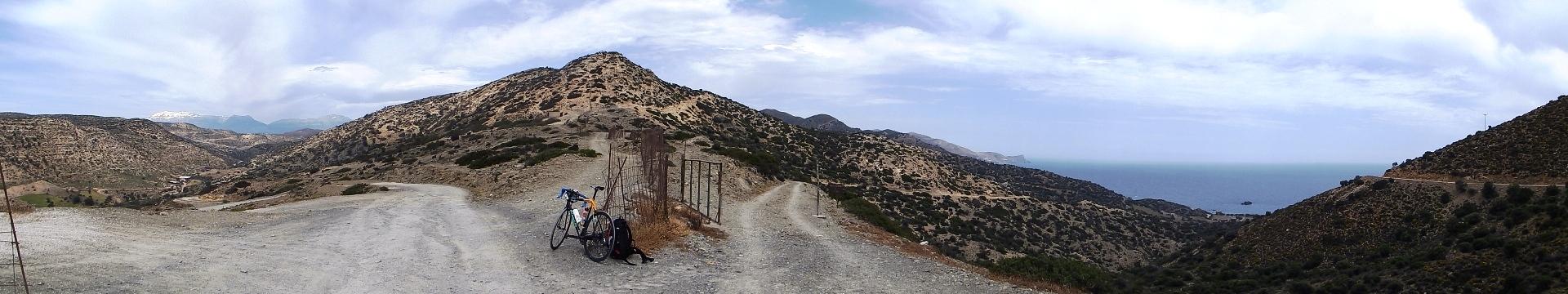Biking Crete