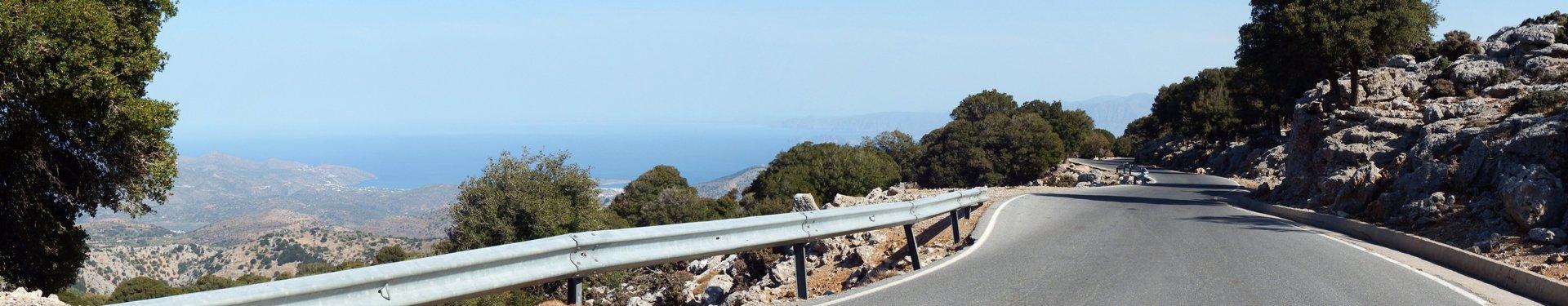 Biking The Crete Mountains