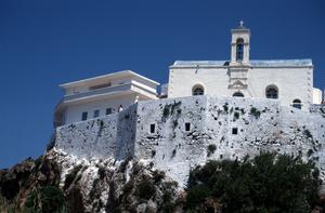 monastery chrysoskalitissa - elafonisi - crete
