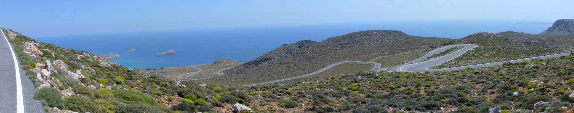 Downhill To Xerokambos - Eastern Crete