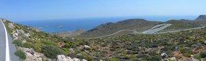 Downhill To Xerokambos - Eastern Crete