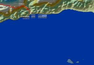 Mirtos And Mirtos Fournou Korifi Map