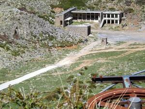 The Desolated Ski Resort Near The Nida Plateau © nick / bikingcrete.com